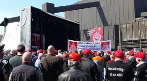 Stahlaktionstag der IG Metall in Duisburg