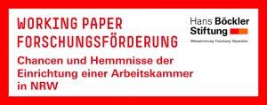 PCG-Studie: Chancen und Hemmnisse der Einrichtung einer Arbeitskammer in NRW